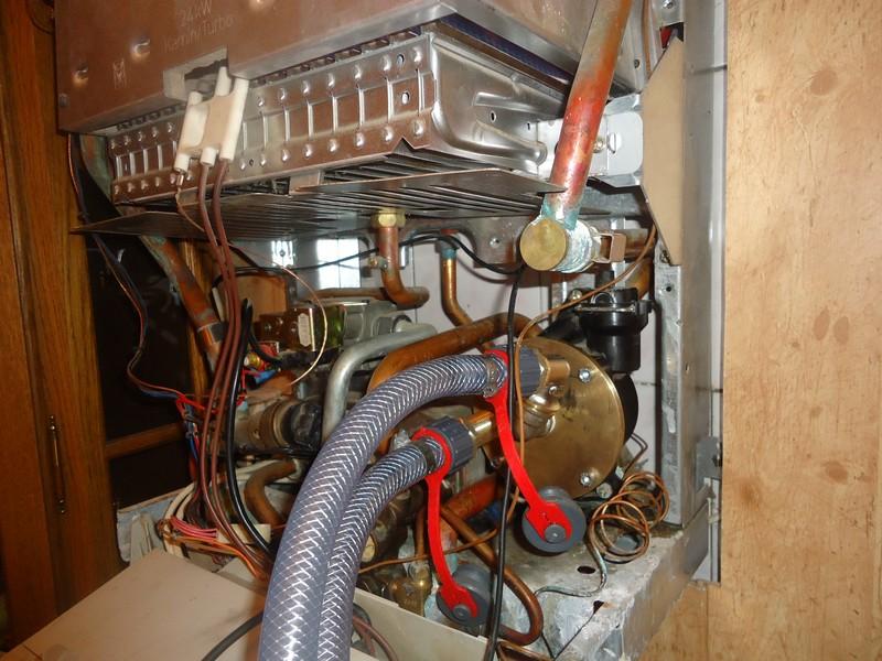 Промывка теплообменника газового котла своими руками видео